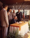 Board of Regents Members at the Bill Signing creating The University of Texas at Tyler by University of Texas at Tyler