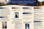 Enrichment of Psychiatric Mental Health Clinical Rotations: A Suicide Scenario Simulation