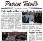Patriot Talon Vol. 41 Issue 12 (2010)