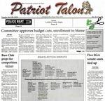 Patriot talon Vol. 41 Issue 18 (19) (2010)