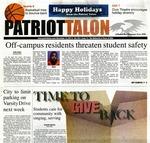 Patriot Talon Vol. 50 Issue 7 (2011)
