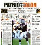 Patriot Talon (Nov. 20, 2012) by Archives Account