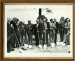 James Stewart and Board of Regents at Groundbreaking by Archives Account