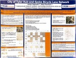 City of Tyler Hub-and-Spoke Bicycle Lane Network by Arthur Fagundes and Mena Souliman