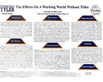 The Effects on a Working World Without Titles