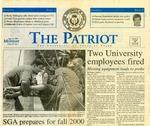 The Patriot Vol. 29 no. 1 (2000)