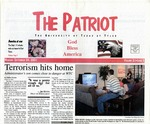The Patriot Vol. 31 no. 3 (2001)