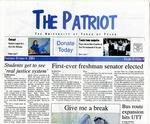 The Patriot Vol. 31 no. 4 (2001)