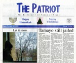 The Patriot Vol. 31 no. 8