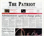 The Patriot Vol. 32 no. 5