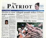 The Patriot Vol. 33 no. 3 (2002)