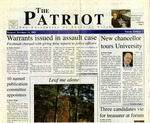 The Patriot Vol. 33 no. 7 (2002)