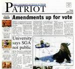 The Patriot Vol. 34 No.10 (2004)