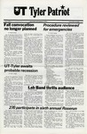 UT Tyler Patriot Vol. 7 no. 4 by University of Texas at Tyler