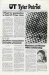 UT Tyler Patriot Vol. 7 no. 5 (6) by University of Texas at Tyler
