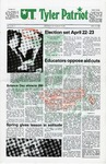 UT Tyler Patriot Vol. 8 no. 11 by University of Texas at Tyler