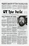 UT Tyler Patriot Vol. 9 no. 10 (11) by University of Texas at Tyler