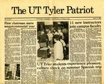 UT Tyler Patriot Vol. 13 no. 1