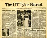 UT Tyler Patriot Vol. 13 no. 1