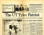 UT Tyler Patriot Vol. 16 no. 3