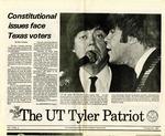 UT Tyler Patriot Vol. 17 no. 4