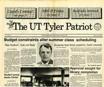 UT Tyler Patriot Vol. 20 no. 1