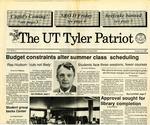 UT Tyler Patriot Vol. 20 no. 1