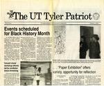 UT Tyler Patriot Vol. 22 no. 1 by University of Texas at Tyler