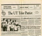 The UT Tyler Patriot Vol. 9 no. 9 by University of Texas at Tyler