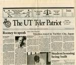 The UT Tyler Patriot Vol. 20 no. 1