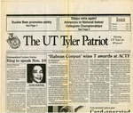 The UT Tyler Patriot Vol. 20 no. 4