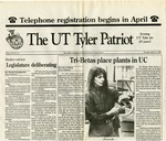 The UT Tyler Patriot Vol. 20 no. 10