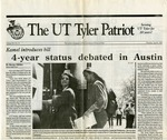 The UT Tyler Patriot Vol. 20 no. 11 (1993) by University of Texas at Tyler