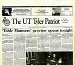 The UT Tyler Patriot Vol. 20 no. 2 (1992) by Archives Account