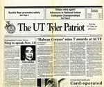 The UT Tyler Patriot Vol. 20 no. 4 (1992)