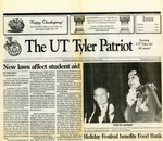 The UT Tyler Patriot Vol. 20 n. 5 (1992) by Archives Account