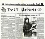 The UT Tyler Patriot Vol. 20 no. 10 (1993) by Archives Account